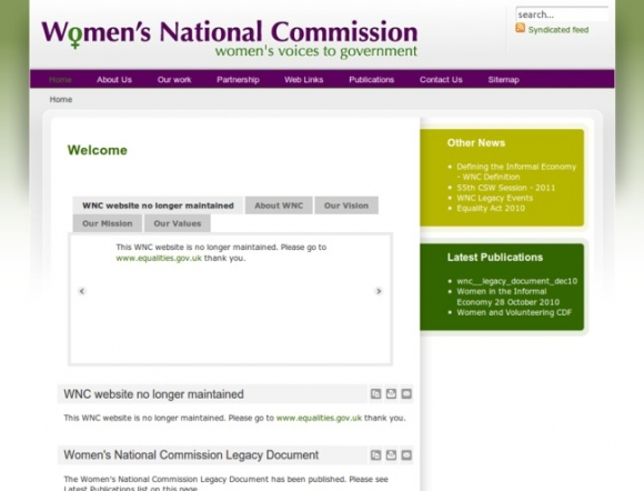 Womens National Commission