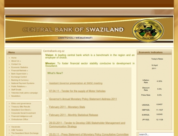 Central Bank - Swaziland