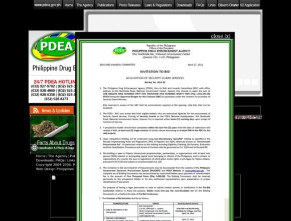 PDEA - Philippine Drug Enforcement Agency