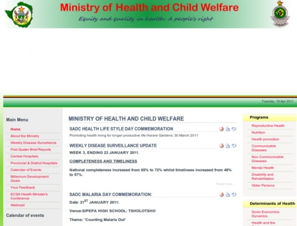 Ministry of Health and Child Welfare