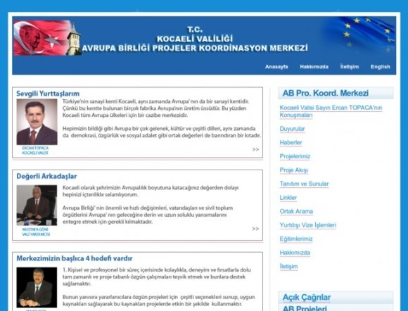 Governorship of Kocaeli - EU Projects Coordination Center