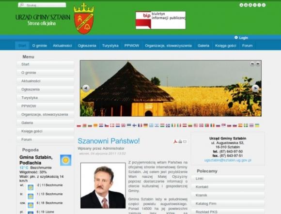 Communal Office Sztabin