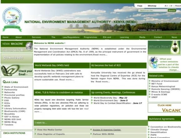 National Environment Managment Authority