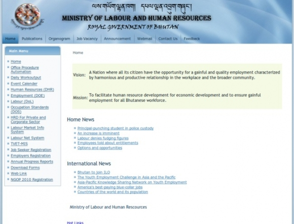 Ministry of Labour and Human Resources